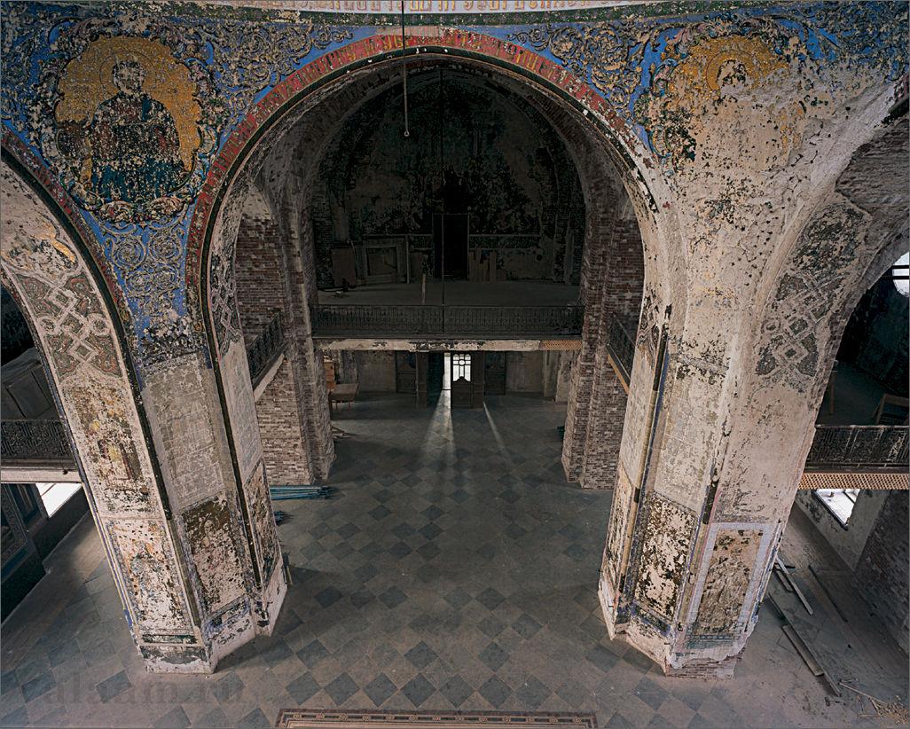 Верхний храм Спасо-Преображенского собора. Росписи.